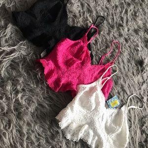 Free People Intimates & Sleepwear - Brand New Free People Bralette Bundle!